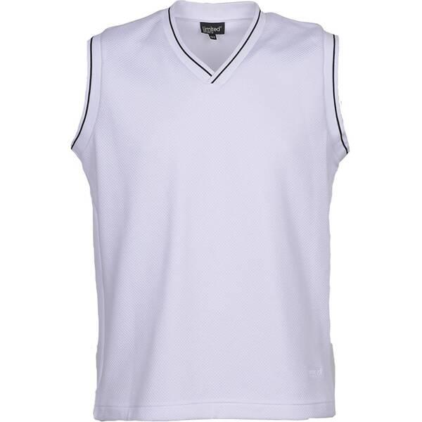 LIMITEDSPORTS Herren Tennis Pullunder Limited Classic   Bekleidung > Pullover > Pullunder   White   LIMITEDSPORTS