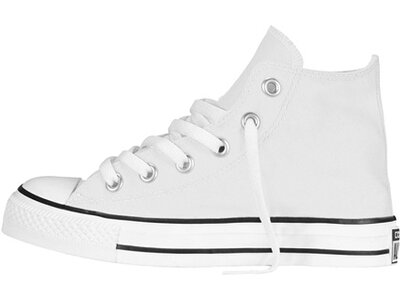 CONVERSE Mädchen Sneakers Chuck Taylor All Star High Top Weiß
