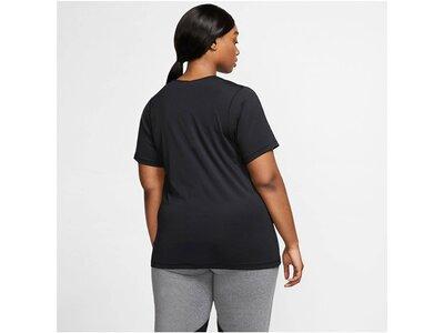 NIKE Damen T-Shirt Schwarz