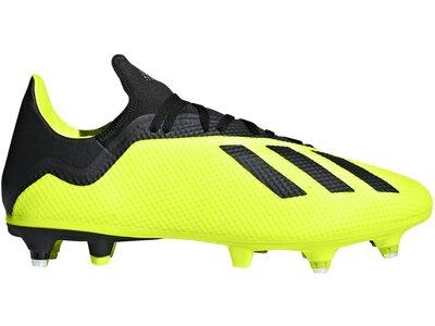 ADIDAS Fußball - Schuhe - Stollen X 18.3 SG Weiß