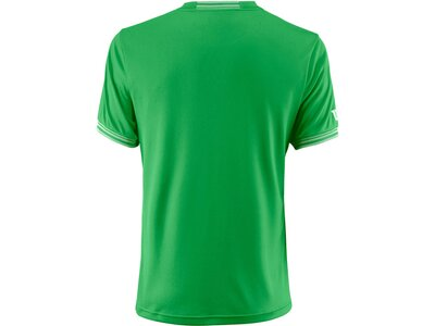 "WILSON Herren Tennisshirt ""Team Solid Crew"" Kurzarm Weiß"