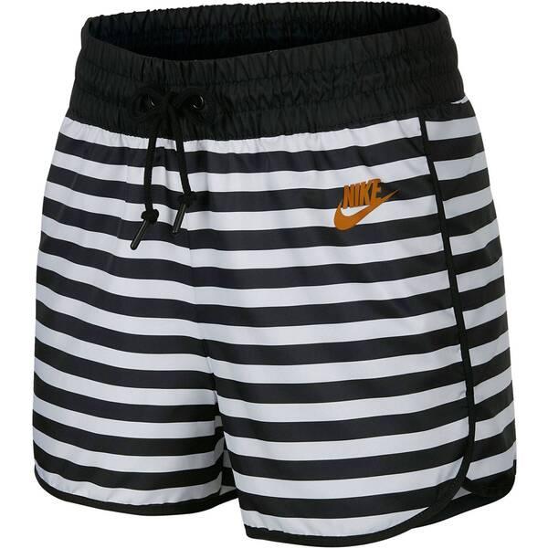 Hosen - NIKE Damen Shorts › Weiß  - Onlineshop Intersport