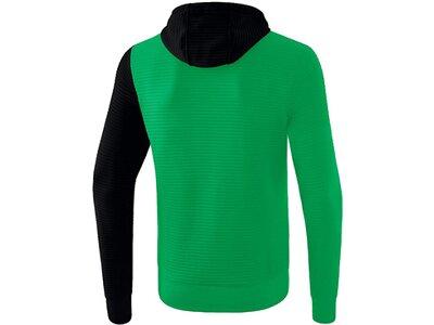 ERIMA Fußball - Teamsport Textil - Jacken 5-C Trainingsjacke mit Kapuze Kids Grün