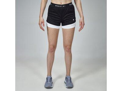 Kurze Sporthose Shorts Schwarz