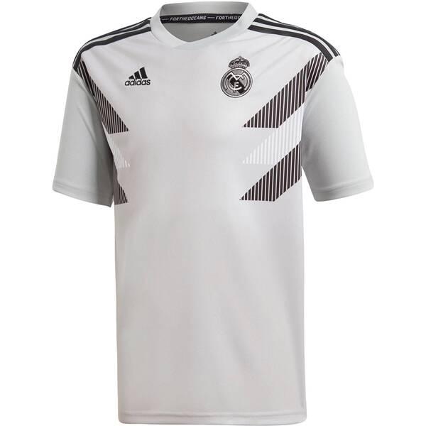 ADIDAS Jungen Fußballshirt Real H Preshi Y Kurzarm