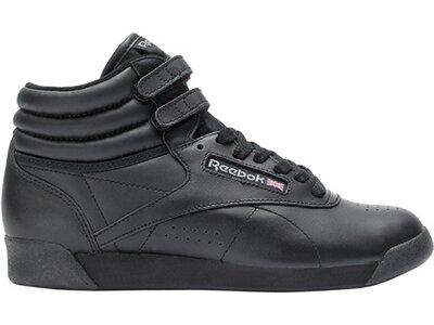 REEBOK Damen Fitnessschuhe Freestyle Hi - schwarz Schwarz