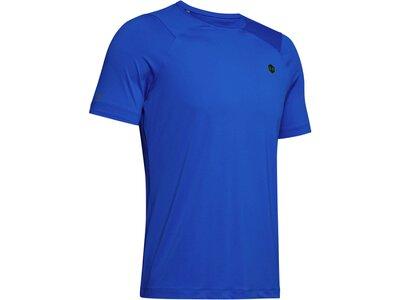 "UNDERARMOUR Herren Trainingsshirt ""Rush HeatGear"" Kurzarm Blau"