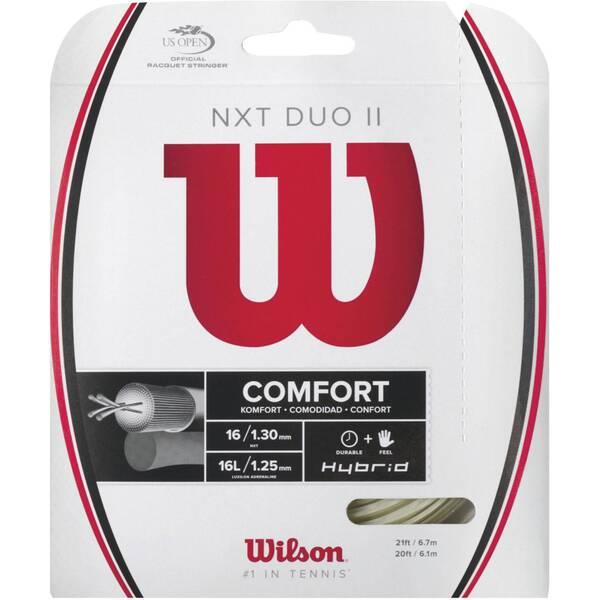"WILSON Tennisschläger Saitenset ""NXT Duo II"""