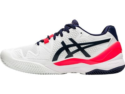 "ASICS Damen Tennisschuhe Outdoor ""Gel-Resolution 8 Clay"" Grau"