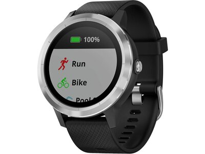 """GARMIN GPS-Uhr / Multifunktionsuhr """"vívoactive® 3"""" Schwarz"""
