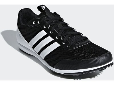 ADIDAS Damen Distancestar Spikes Schwarz