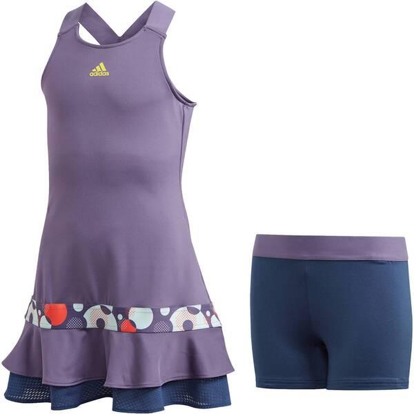 """ADIDAS Mädchen Tennis Kleid """"Frill Dress"""" zweiteilig"""