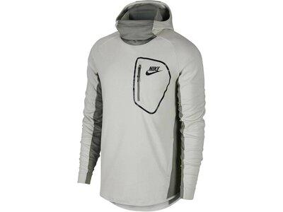 NIKE Herren Kapuzensweatshirt Men's Advance 15 Hoodie Silber