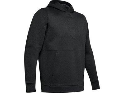 """UNDERARMOUR Herren Sweatshirt """"Athlete Recovery Fleece Graphic Hoo"""" Schwarz"""