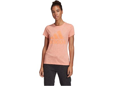 "ADIDAS Damen Trainingsshirt ""Must Haves Winners"" Kurzarm Blau"