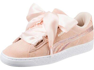 """PUMA Damen Sneaker """"Suede Heart LunaLux"""" Pink"""