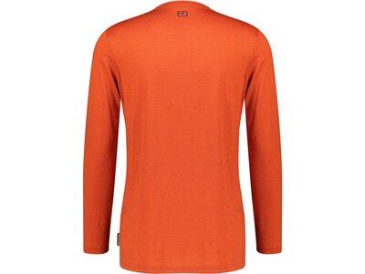 """ORTOVOX Herren Bergsport Shirt """"185 Merino F2"""" Langarm Rot"""