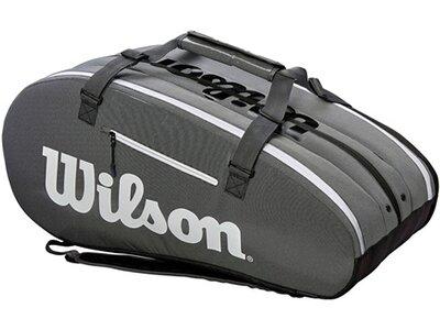 """WILSON Tennis-Tasche """"Super Tour 3 Compartment"""" Schwarz"""