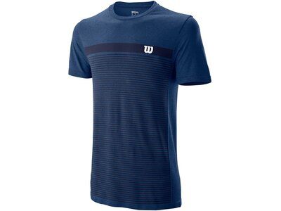 "WILSON Herren Tennisshirt ""Competition Seamless Crew"" Blau"