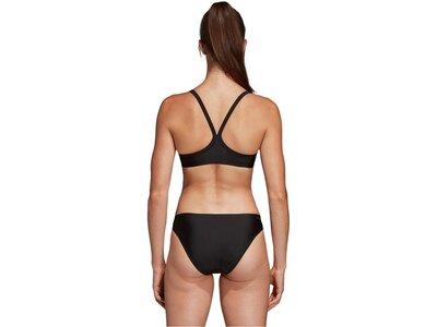 """ADIDAS Damen Bikini """"3-Streifen"""" Schwarz"""