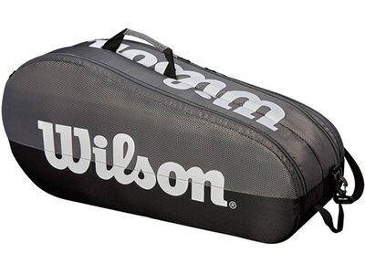 "WILSON Tennistasche ""Team 2 Compartment 6er Bag"" Grau"