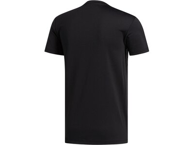 "ADIDAS Herren Trainingsshirt ""Aero 3S"" Schwarz"
