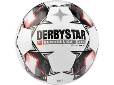 """DERBYSTAR Freizeit-Fußball """"Replica Bundesliga 18 Brillant APS"""" Weiß"""