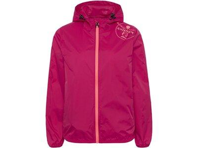 CHIEMSEE Regenjacke zur Tasche faltbar Pink
