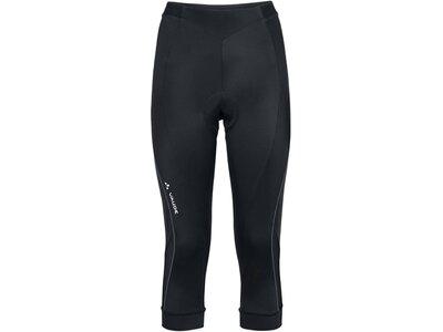"""VAUDE Damen Radtights """"Advanced 3/4 Pants II"""" Schwarz"""