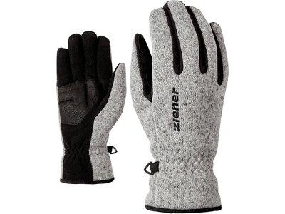 """ZIENER Handschuhe """"Imagio"""" Silber"""