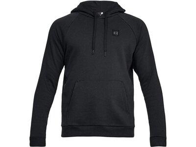 UNDERARMOUR Herren Fitness-Fleece-Sweatshirt Rival Schwarz