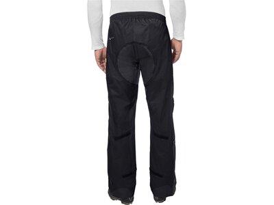 VAUDE Herren Rad-Regenhose Drop Pants II Long Size Schwarz