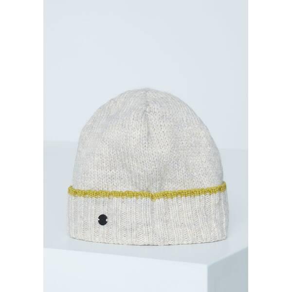 CHIEMSEE Mütze mit Kontrast-Ringel Muster