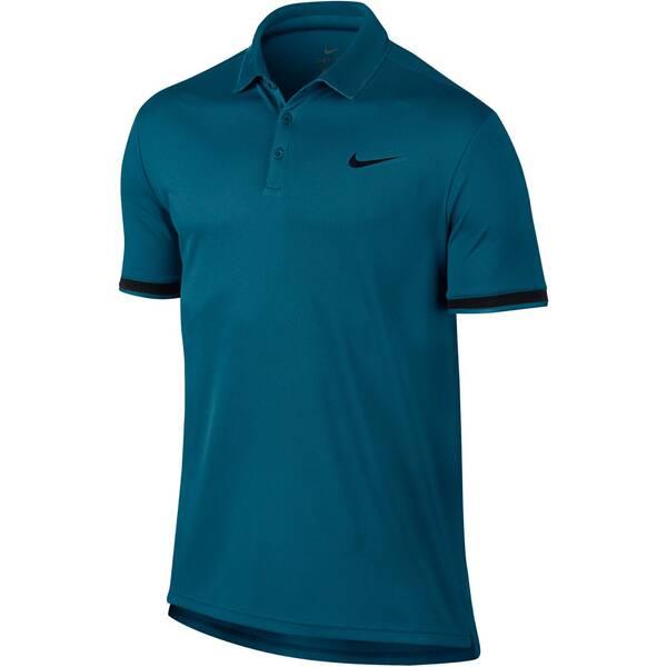 NIKE Herren Tennisshirt / Poloshirt NikeCourt Dry Tennis Polo | Sportbekleidung > Sportshirts > Tennisshirts | Green - Black | NIKE