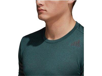 ADIDAS Herren Trainingsshirt Freelift Climacool Grau