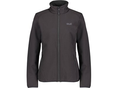 "JACKWOLFSKIN Damen Softshelljacke ""Northern Pass"" Schwarz"