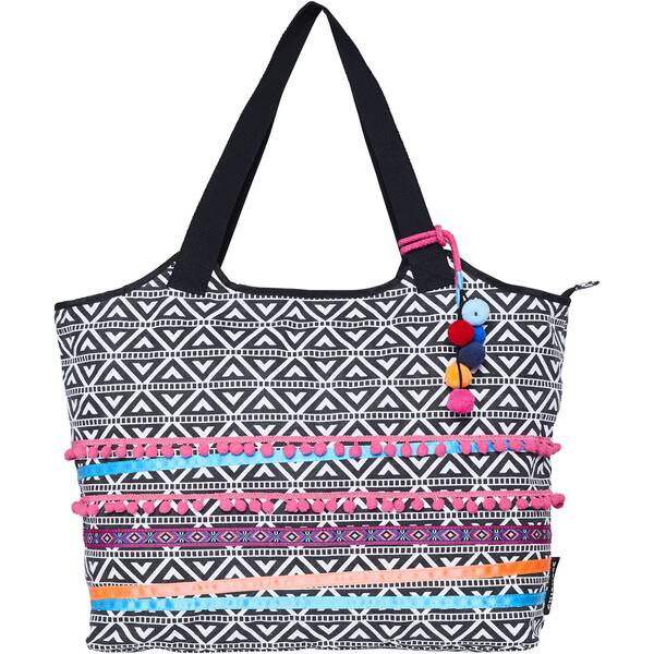 CHIEMSEE Strandtasche mit Ethno Muster