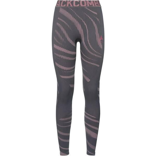 ODLO Damen Funktionsunterhose SUW | Sportbekleidung > Funktionswäsche > Thermoleggings | Gray - Rose | Polyester | ODLO
