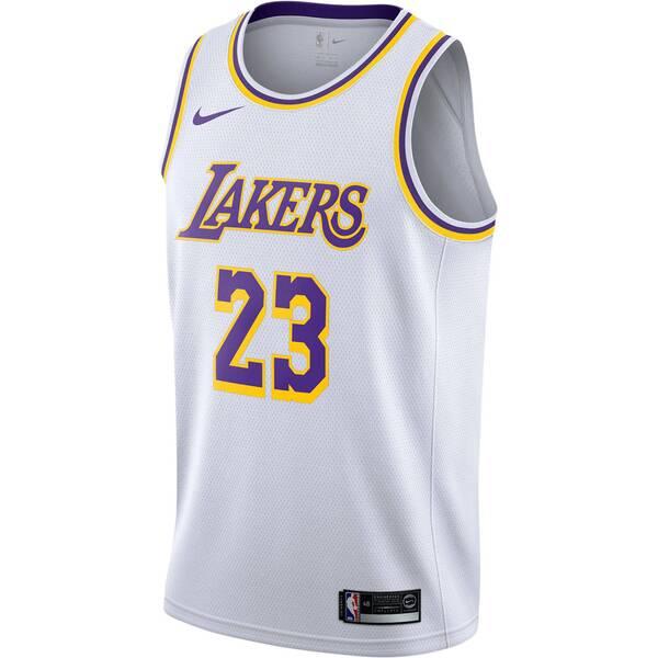 "NIKE Herren Basketball-Trikot ""LeBron James Association Edition Swingman (Los Angeles Lakers)"""
