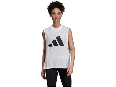 "ADIDAS Damen Tanktop ""adidas Athletics Pack Graphic"" Weiß"