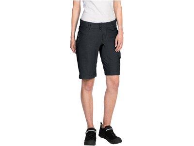 "VAUDE Damen Radshorts ""Tremalzo Shorts II"" Schwarz"