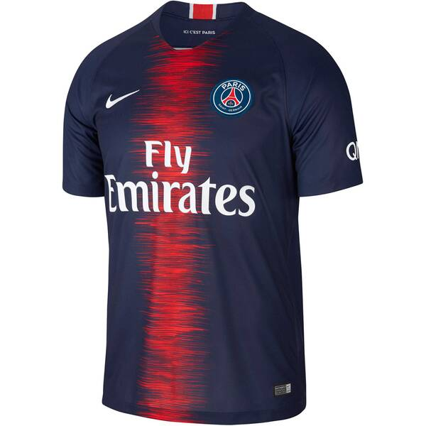 NIKE Herren Fußballtrikot Breathe Paris Saint-Germain Home Stadium Kurzarm