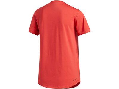 """ADIDAS Damen T-Shirt """"Tech Bos"""" Rot"""