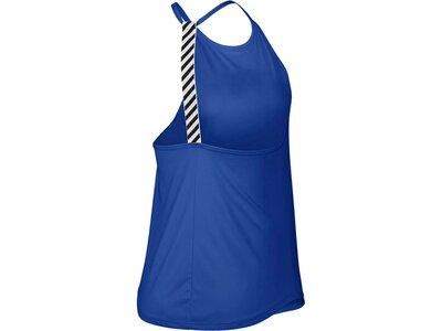 NIKE Damen Trainingstanktop Blau