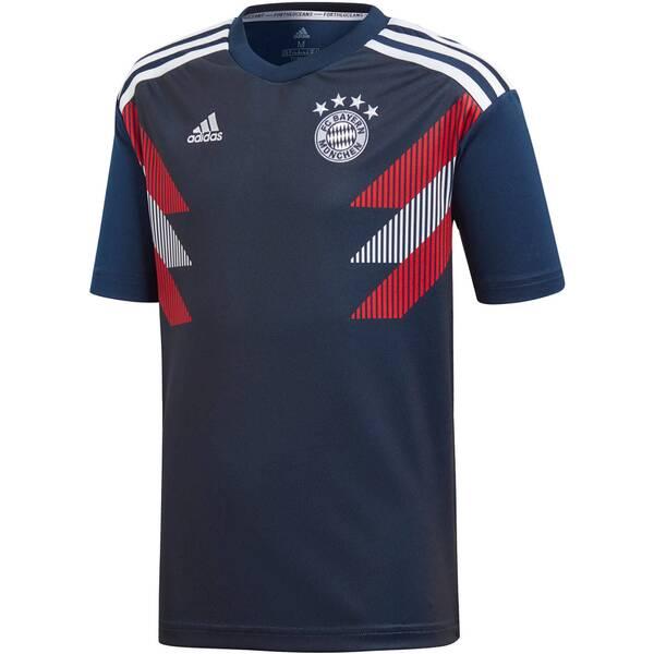 ADIDAS Kinder Fußballtrikot Fc Bayern Pre-Match Jersey Youth