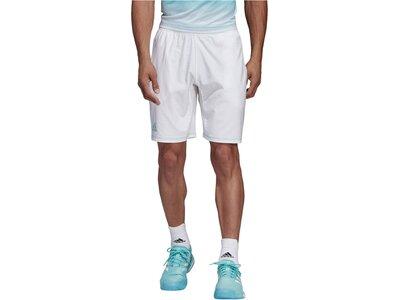 ADIDAS Herren Tennisshorts Silber