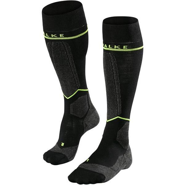 FALKE Herren Kompressions-Skistrümpfe Engergizing | Sportbekleidung > Funktionswäsche > Skisocken | Black | FALKE