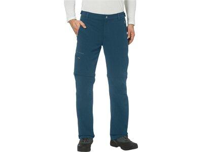 "VAUDE Herren Wanderhose / Trekkinghose / Zipp-Off-Hose ""Farley Stretch T-Zip Pants II"" Blau"