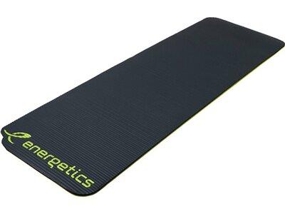 "ENERGETICS Fitnessmatte / Gymnastikmatte ""NBR Professional"" Grau"