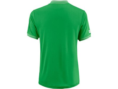 """WILSON Herren Tennisshirt """"Team Polo"""" Kurzarm Grün"""
